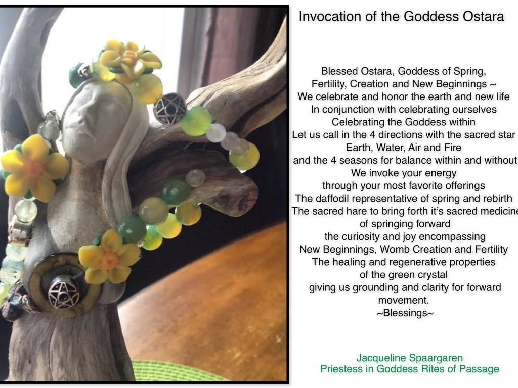 invocation goddess ostara